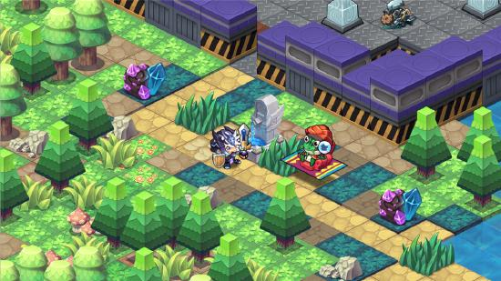 全员方脑阔!可爱风roguelike迷宫冒险《诺加尔德》4月14日开测!