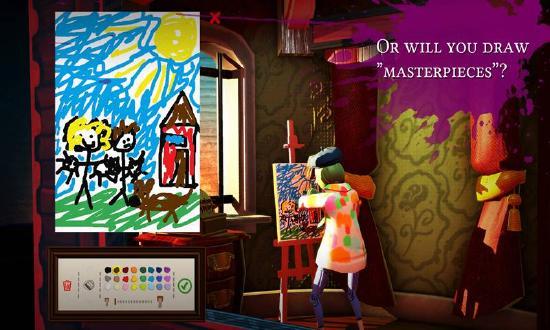 《饥饿派画家》:我的画在第五层,你看到第二层,却只想到了第一层…