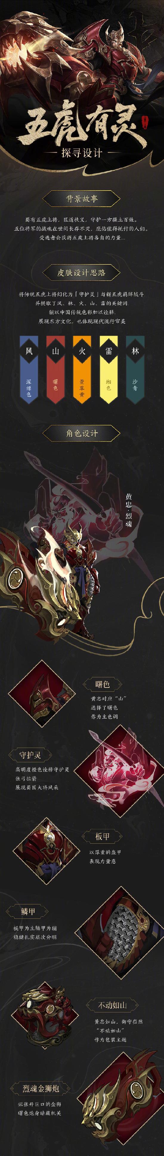 【爆料】黄忠·烈魂五虎上将皮肤新鲜出炉,是时候来发炸裂的开场了!