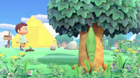 《集合啦!宝可梦森友会!》假如你的动森小岛上来了宝可梦…