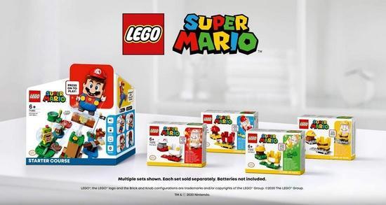 万物皆可乐高?任天堂与LEGO合作推出马里奥新产品