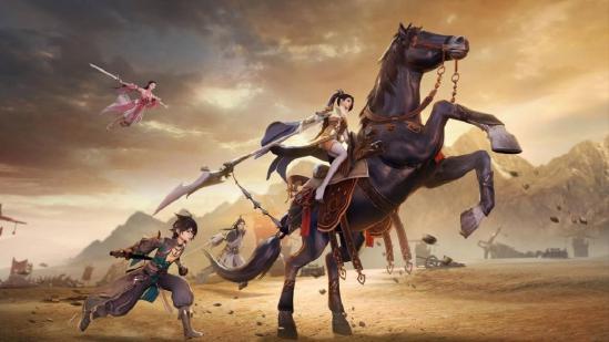 《剑侠情缘2:剑歌行》8月4日正式开服 国风武侠大世界情缘再续!