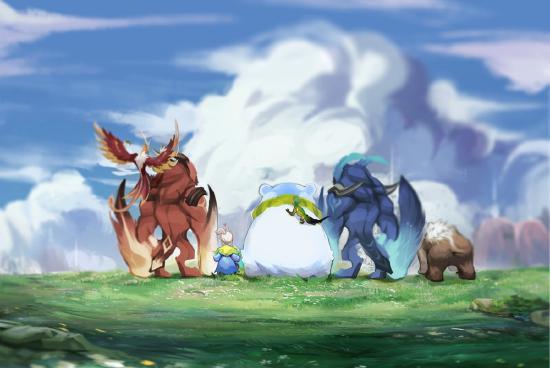 野蛮生长的山林之子-阿古朵夏率领野怪军团来袭