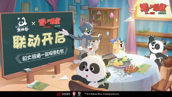 新成员加入!《猫和老鼠》x佛坪熊猫谷国宝联动曝光