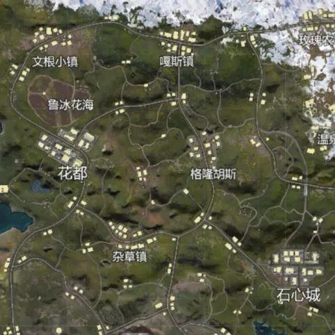【新地图爆料第1弹】绝美花海!露天温泉!全新山谷9月26日上线!