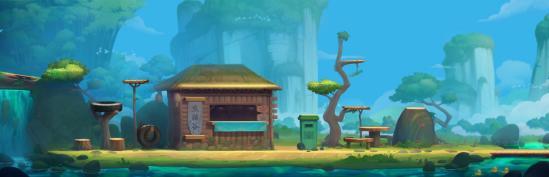 """全新地图""""熊猫谷""""来啦丨快坐上观光车,到这自然风光中和可爱的熊猫一起玩耍吧!"""