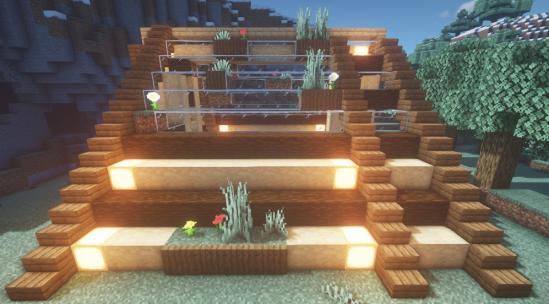 简易小屋教程~与自然融为一体的清新小木屋!