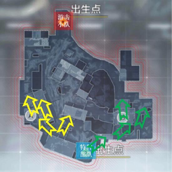 枪火战区爆破模式点位教程:简单好用的卡点位置