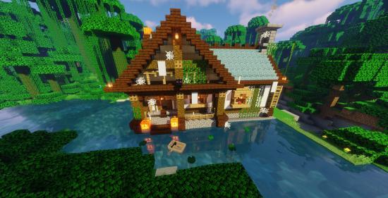 复古风格小屋~简单又有趣的女巫之家