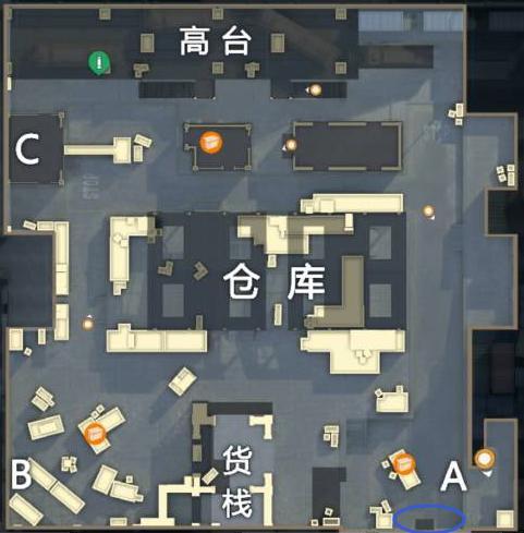 【攻略创作】新模式突变团竞攻略教学 全地图点位大解析