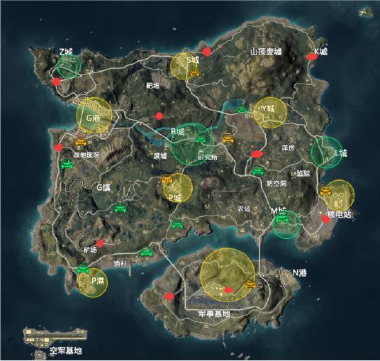 滑翔机全地图刷机位置一览 落地拿机看这里
