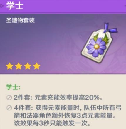 【原神】吟游诗人温迪角色攻略 阵容推荐与圣遗物选择
