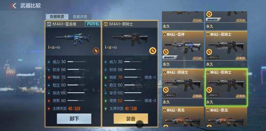 【攻略创作】五周年版本体验服爆料:永久M4A蓝龙魂可白嫖?M4A1蓝龙魂枪械测评