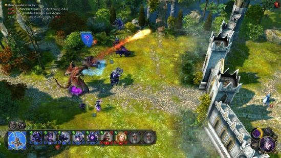 """《战争怒吼》12月10日将开测!MOBA 与""""魔兽""""的经典RTS"""