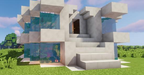 海底世界奇妙物语?亚特兰蒂斯公寓建筑教程