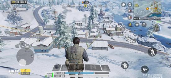 【使命战场】想在使命战场中欣赏雪景?不妨看看边境地图的最北侧