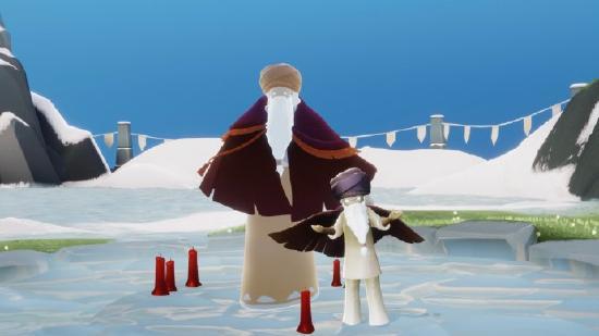 光遇1月14日复刻先祖 兑换紫色魔法帽和坠饰斗篷