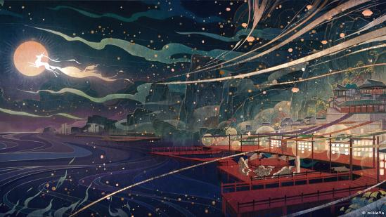 【原神】壁纸分享—海灯节