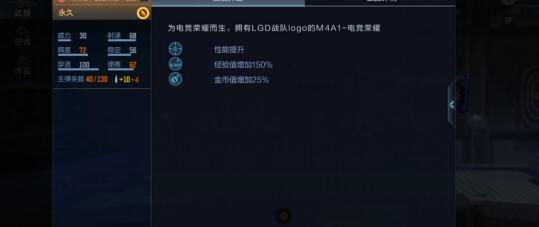 CF手游大神评测:为电竞荣耀而生,M4A1-电竞荣耀・LGD!