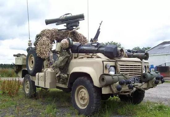 【战场科普】沙漠粉红豹,盘点路虎战车的发展史