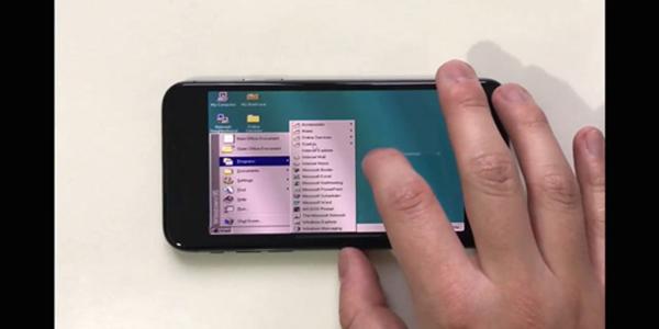 用iPhoneX玩Win95扫雷是一种怎么样的体验?