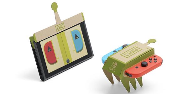 """【附视频】任天堂公布""""纸盒子""""Labo Switch居然还有这种操作"""