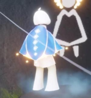 水母幽蓝斗篷,蓝色条纹斗篷先祖在哪里
