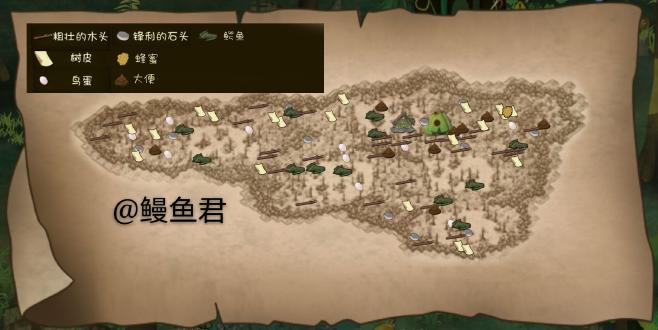 沼泽资源地图