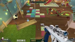 生死狙擊:拿老玩家最愛的白銀巴雷特打變異,一槍一個小僵尸!