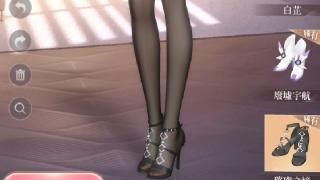 闪耀暖暖字幕 台服各种高跟鞋搭配嗨丝展示!