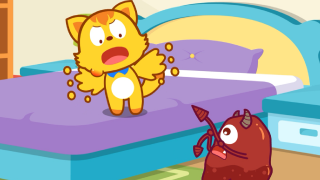 【猫小帅】好习惯:可乐泡泡虫